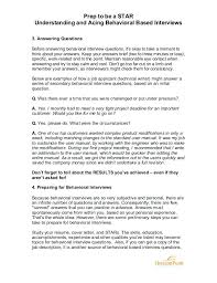 behavioral based interview question hr behavioral interview questions and answers pdf 5 guaranteed to be
