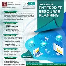 Diploma In Enterprise Resource Planning
