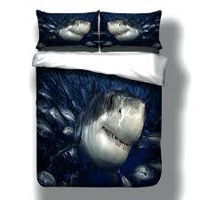 shark quilt shark printed bed linen bedding sets comforter bed cover quilt duvet cover set queen