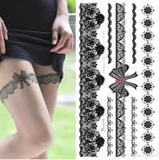 1 шт водонепроницаемый временные татуировки наклейки на теле ноги передачи воды
