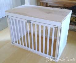 How to make a dog crate Wood Dog Crate Diy 16 K9 Of Mine Diy Dog Crate Plans Plans For Your Pups Custom Kennel