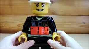 Обзор <b>LEGO</b> City <b>часы</b>-<b>будильник</b> пожарный - YouTube