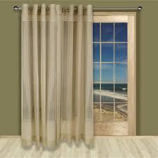 grommet patio door curtains