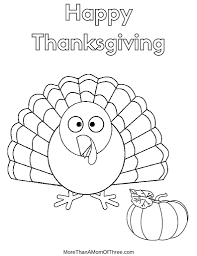 Feel free to print and color from the best 40+ thanksgiving coloring pages for kids at getcolorings.com. Free Thanksgiving Coloring Pages Printables For Kids More Than A Mom Of Three