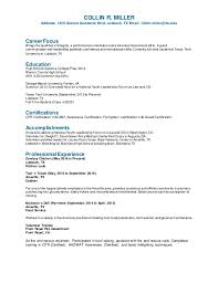 Good Qualities For A Resume Adorable Miller Resume 48
