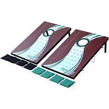 EastPoint Sports Stars & Stripes Cornhole Bean Bag Toss, 3' x 2 ...