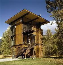 Prefab A Frame House Adaptable Prefab Cabin Retreat With Cool Operable Windows