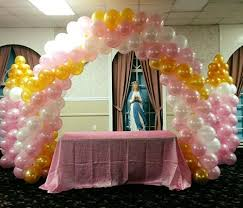 Amusing Balloon Arch Decorations For Baby Shower 34 In Baby Shower Cakes  with Balloon Arch Decorations For Baby Shower