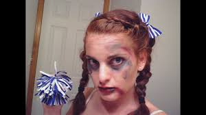 dead cheerleader halloween tutorial