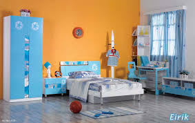 Orange Bedroom Furniture Bedroom Gorgeous Image Of Kid Blue And Orange Bedroom Decoration