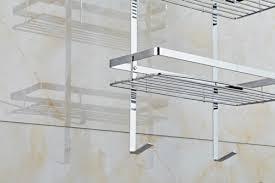 6 of 11 bathroom soap holder hanger rack hanging shower organizer chrome bath cad us