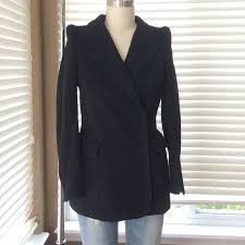 h m x maison martin margiela reversed denim jacket worn once depop