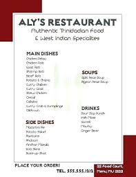 Word Restaurant Menu Templates Restaurant Menu Templates Word Emailers Co