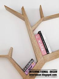 modern wall shelves of tree branches tree shelves tree shelf style