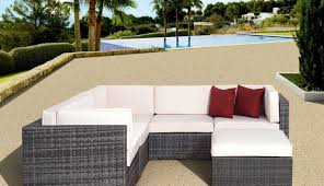 large size of rattan patio black lounge without sedona table costco sofa furniture clearance settings white