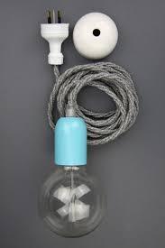 new modern dandy electrical cloth cord pendant oscar wilde