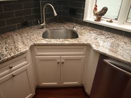 Corner Sink transitional-kitchen