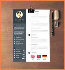 10 Free Modern Resume Templates For Word Andrew Gunsberg