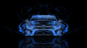 bmw i8 black wallpaper. bmwi8frontbluefireabstractcar2014 bmw i8 black wallpaper