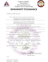 Nbi Clearance For Those Living Abroad Philippine How To Get Barangay