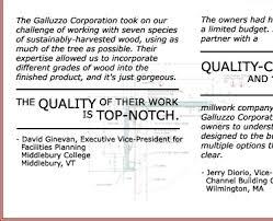 Testimonials   The Anthony Galluzzo Corp.