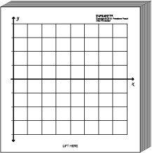 Miniplot Graph Paper Kit Polar Xy Coordinate Grid Designs