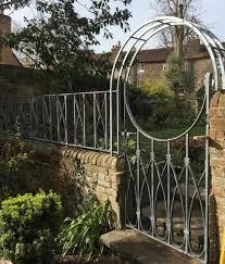 lowe wrought iron garden gates