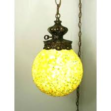 hanging swag chandelier