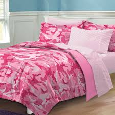 pink camo camouflage forters and bedding for girls teens