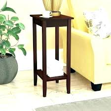30 high side table inch end lovely wood round accent tall cm