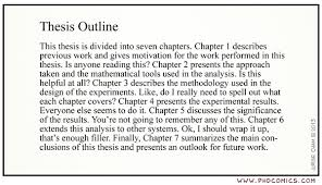 SAMPLE THESIS OUTLINE Computer Science  Columbia University