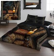 wild star home duvet cover set queen size the witching hour