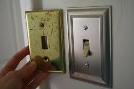 home decor brushed nickel switch plates cdbossington interior design