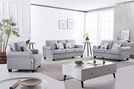 Light Grey Couch Set Amazon Com Us Pride Furniture S5341 3pc Audrey 3 Piece