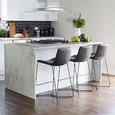 Slope <b>Leather Bar</b> & Counter <b>Stools</b>