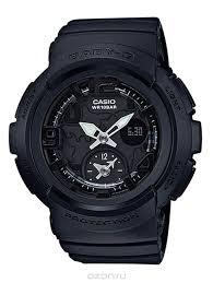 "<b>Часы</b> наручные <b>женские Casio</b> ""<b>Baby-G</b>"", цвет: черный. <b>BGA</b> ..."