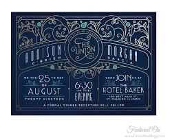 deco invitations art deco weddings Wedding Invitations South Perth art nouveau wedding invitations South of Perth City