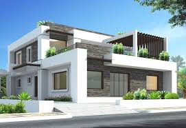 3d exterior design of house at home design ideas