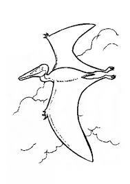 Small Picture Flying prehistoric bird coloring pages Hellokidscom
