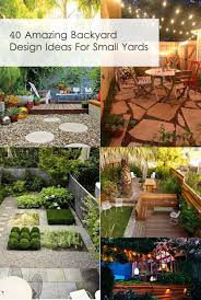 40 Amazing Design Ideas For Small Backyards Definitely need to ...