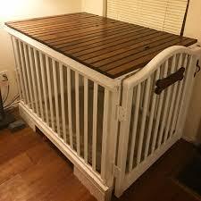 repurpose furniture dog. DIY Dog Crate. Repurposed Baby Crib And Pallet. Reclaimed Whiskey Barrel Wood. Repurpose Furniture R