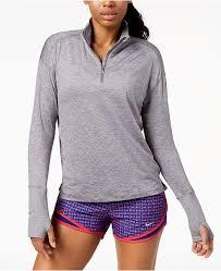 Nike Element Half Zip Size Chart Womens Element Dry Half Zip Running Top