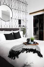 beautiful modern master bedrooms. A Beautiful Modern Master Bedroom Renovation Reveal! Gorgeous Bold Wallpaper, Black, White And Bedrooms M