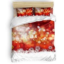 Christmas Lights Sheet Set Amazon Com Flouky Christmas Colorful Pattern Duvet Cover