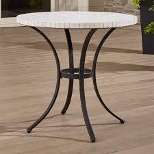 French Bistro 32 X 48 Inch Rectangular Steel Outdoor Folding TableBistro Furniture Outdoor