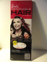 Barbie Com Designable Hair Barbie Designable Hair Extensions Includes 8 Extensions And