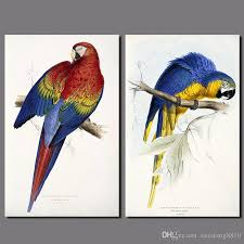 2018 parrot colorful birds decoration red green blue yellow wall art picture canvas painting for living room poster unframed from xiaofang8810  on colorful birds canvas wall art with 2018 parrot colorful birds decoration red green blue yellow wall art