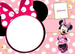 Minnie Mouse Blank Invitation Template Efafcbedccbc Luxury Minnie Mouse Invitation Template Highalpineair Com