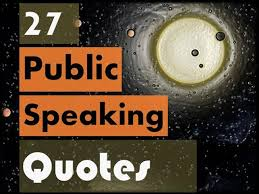 Public Speaking Quotes Cool 48 Quotes On Public Speaking AuthorSTREAM