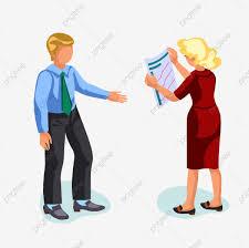 無料ダウンロードのための男1女 仕事 スーツ 長い髪png画像素材